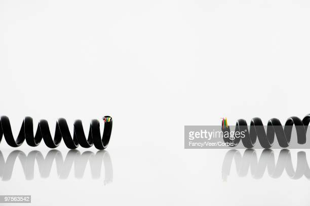 Broken telephone cord