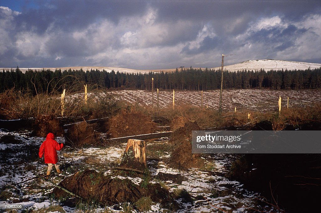 Burns Day Storm, 1990 - A category 1 hurricane caused widespread damage and the loss of power and transport links. Most of the 47 deaths caused by the storm were as a result of collapsing buildings and debris.