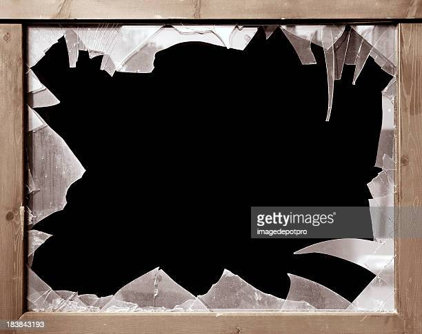 broken window - shattered glass stock pictures, royalty-free photos & images