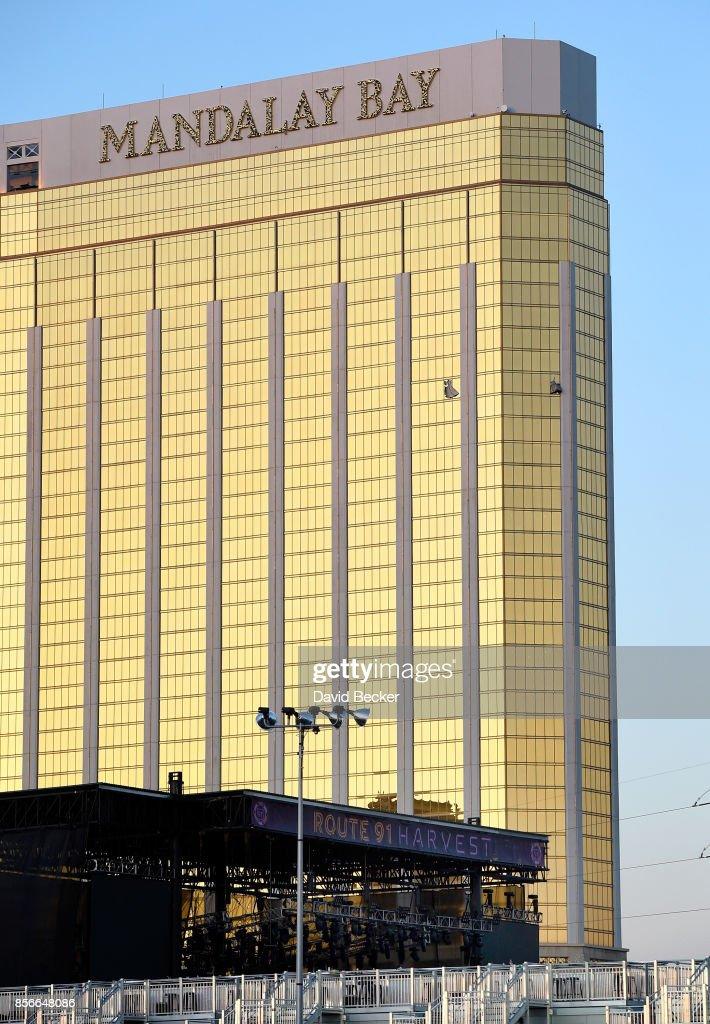 Mass Shooting At Mandalay Bay In Las Vegas : News Photo