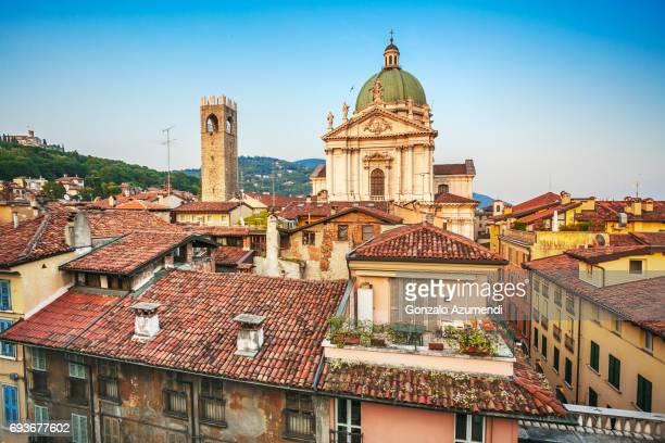 Broletto Palace and the Duomo Nuovo in Brescia