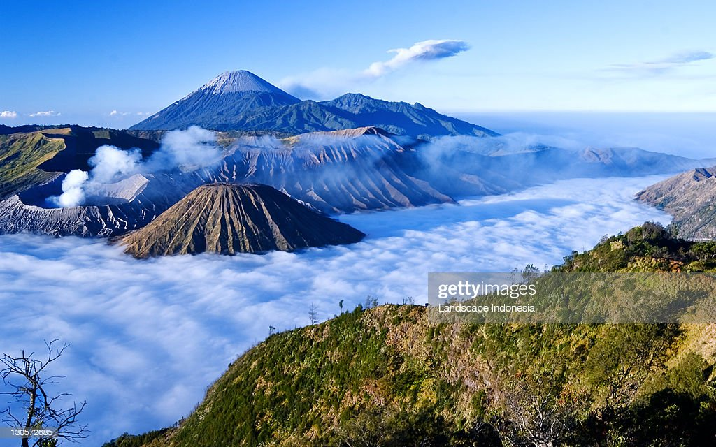Bromo in morning : Stock Photo
