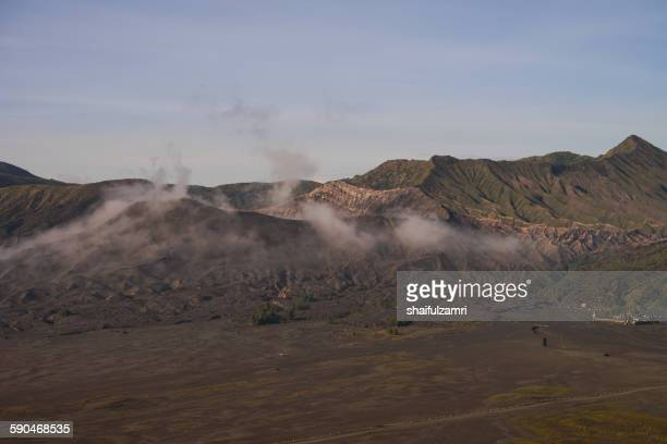 bromo national park - shaifulzamri stock pictures, royalty-free photos & images
