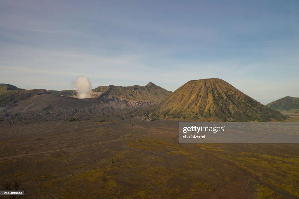 Bromo national park : Stockfoto