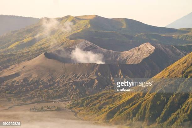 bromo national park - shaifulzamri stock pictures, royalty-free photos & images