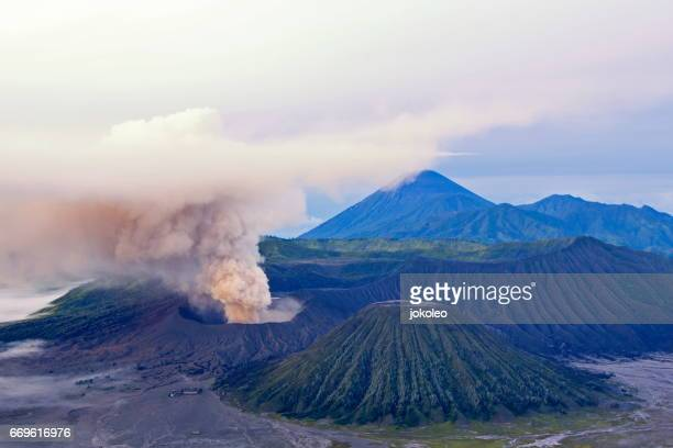 bromo - bromo crater stock pictures, royalty-free photos & images