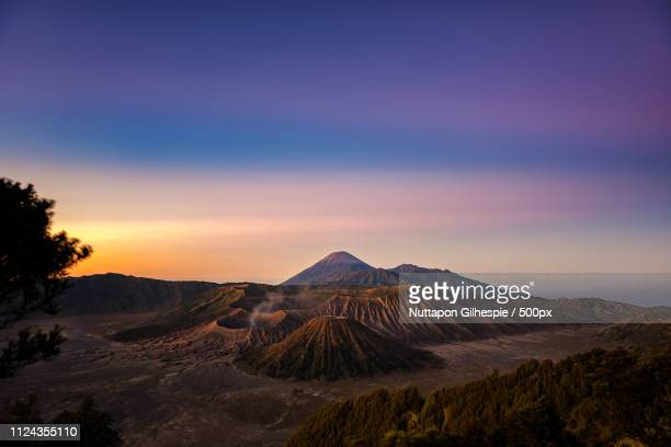 bromo semeru and batok volcano mountain in a morning east jav - jav stock pictures, royalty-free photos & images