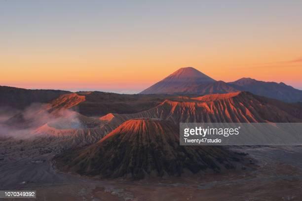 bromo tengger semeru national park, east java, indonesia - mt bromo stock pictures, royalty-free photos & images