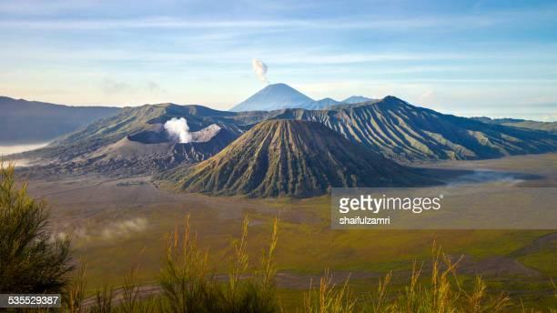 bromo tengger semeru national park - shaifulzamri stock pictures, royalty-free photos & images