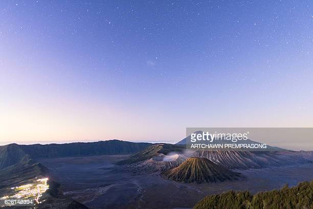 bromo volcano - bromo crater stock pictures, royalty-free photos & images