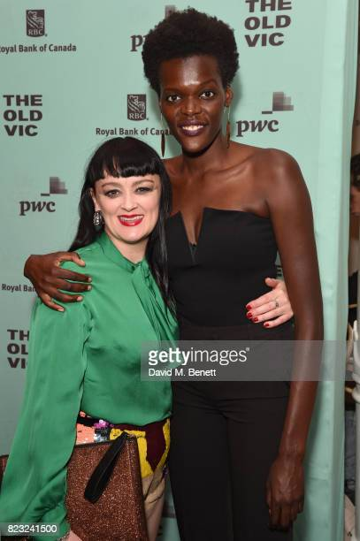 8be70e881fd1 Bronagh Gallagher and Sheila Atim attend the press night after party for   Girl From The.