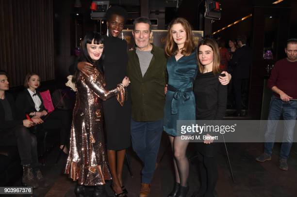 Bronagh Gallagher Ciaran Hinds Claudia Jolly and Shirley Henderson attend the after party of Bob Dylan and Conor McPherson's 'Girl from the North...