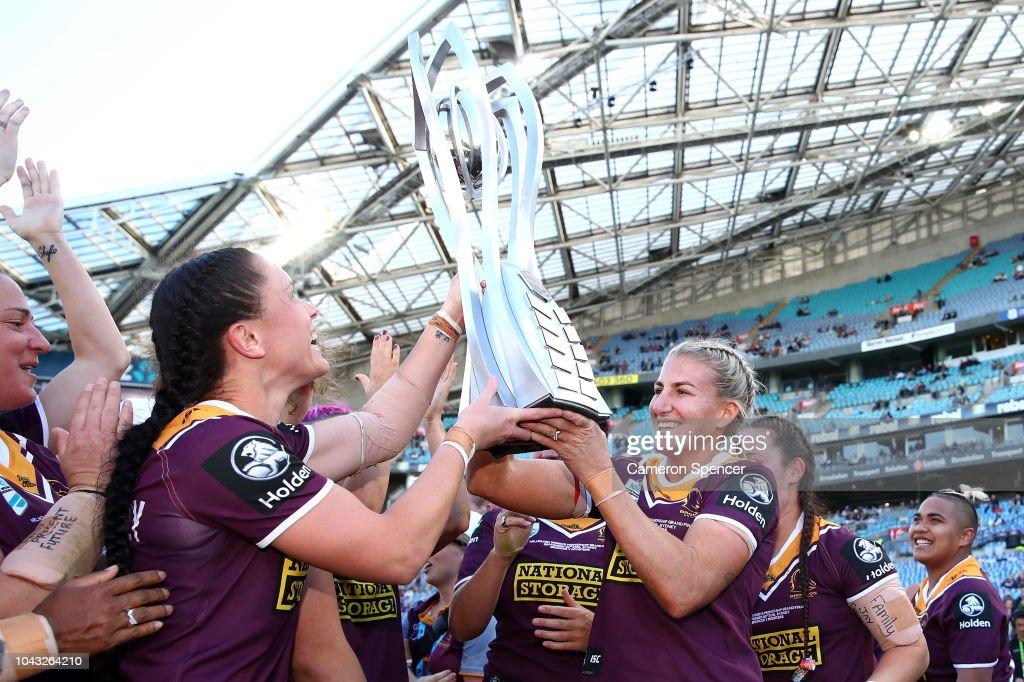 2018 NRL Women's Premiership Grand Final - Roosters v Broncos : News Photo