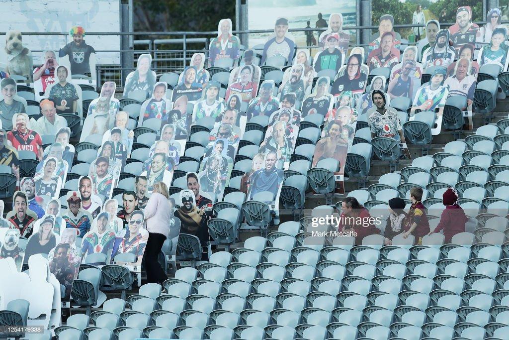 NRL Rd 8 - Warriors v Broncos : News Photo