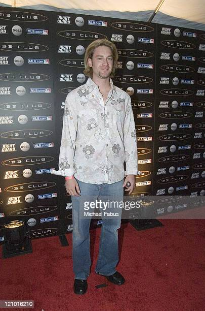 Bronson Arroyo during '33 Club Party' Hosted by David Wright and Presented by MLBcom at Heinz Field in Pittsburgh Pennsylvania United States
