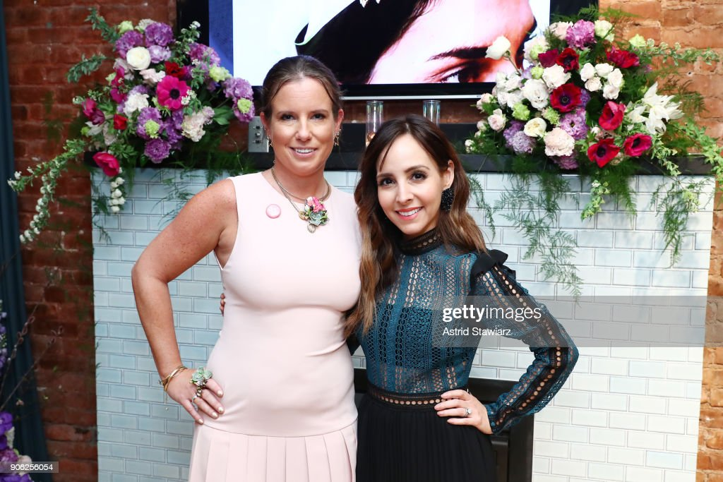Bronwen Smith Of B Floral And The TODAY Show's Lilliana Vazquez Host A Private Floral Accessories Event in NYC