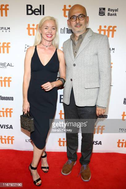 Bronwyn Cornelius and Julian Cautherley attend the Clemency premiere during the 2019 Toronto International Film Festival at Roy Thomson Hall on...