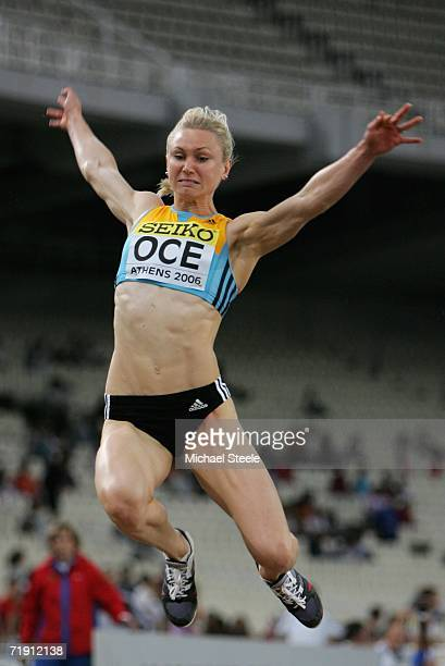 Bronwyn Thompson of Australia in action during the Long Jump during the 10th IAAF World Cup in Athletics on September 17 2006 at the Olympic Stadium...