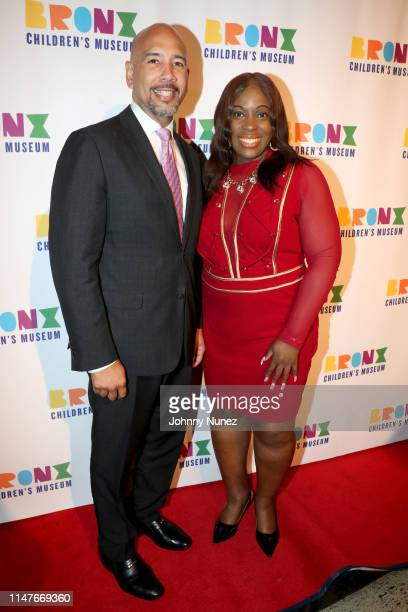 Bronx Borough President Ruben Diaz Jr and NYC Council Member Vanessa Gibson attend the Bronx Children's Museum Third Annual Gala and Benefit Honoring...