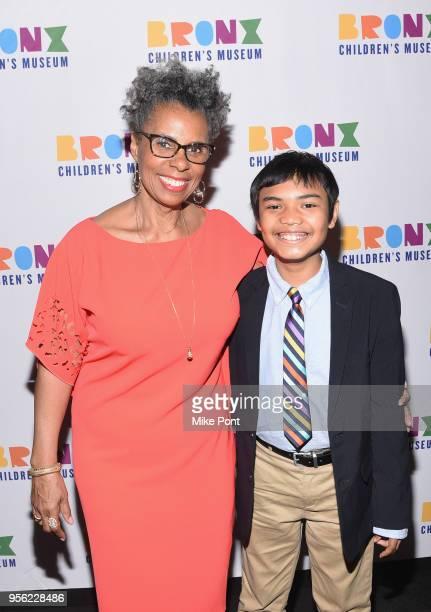 Bronx Children's Museum President Hope Harley attends the Bronx Children's Museum Gala at Edison Ballroom on May 8 2018 in New York City