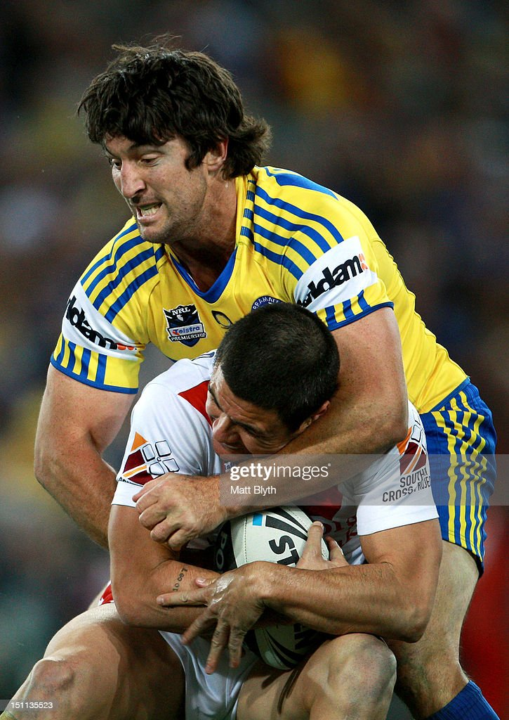 NRL Rd 26 - Eels v Dragons