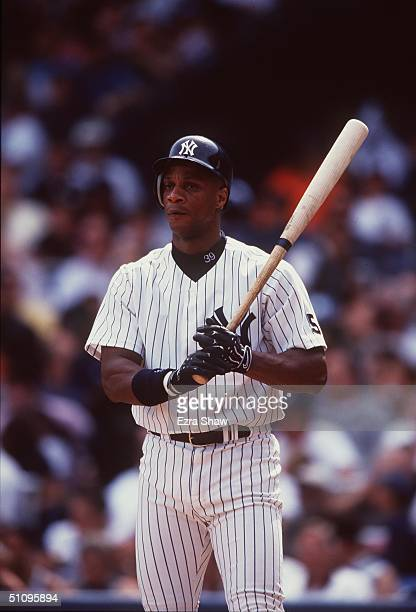 Bronx Ny Darryl Strawberry And The Yankees Versus The Oakland A's
