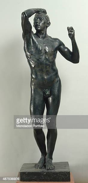 Bronze Age by Auguste Rodin 18751876 19th Century bronze 174 x 42 x 42 cm Italy Lazio Rome National Gallery of Modern and Contemporary ArtGNAM Whole...