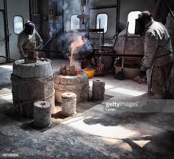 Bronze Foundry. Italy
