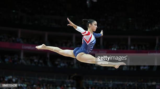 Bronze für Alexandra Raisman Olympische Sommerspiele 2012 London Turnen Frauen Schwebebalken Finale North Greenwich Arena Olympic Summer Games 2012...