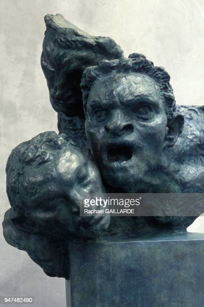 Bronze Heads By Antoine Bourdelle At Musee Bourdelle In Paris September 1994
