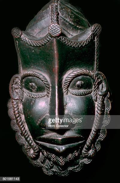 A bronze mask from Benin Nigeria currently in the British Museum