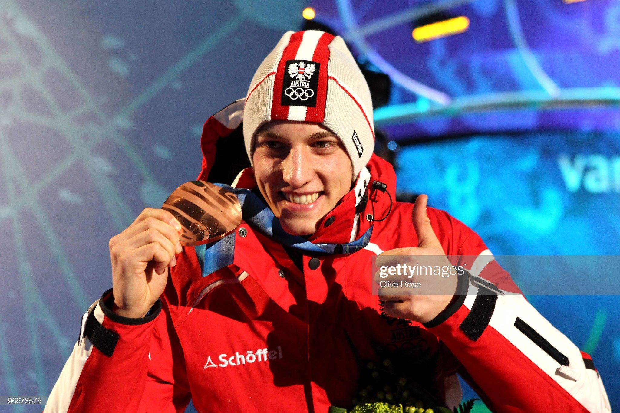 Грегор Шлиренцауэр – бронзовый призер Олимпийских игр 2010