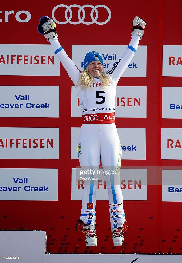 Ladies' Giant Slalom : News Photo
