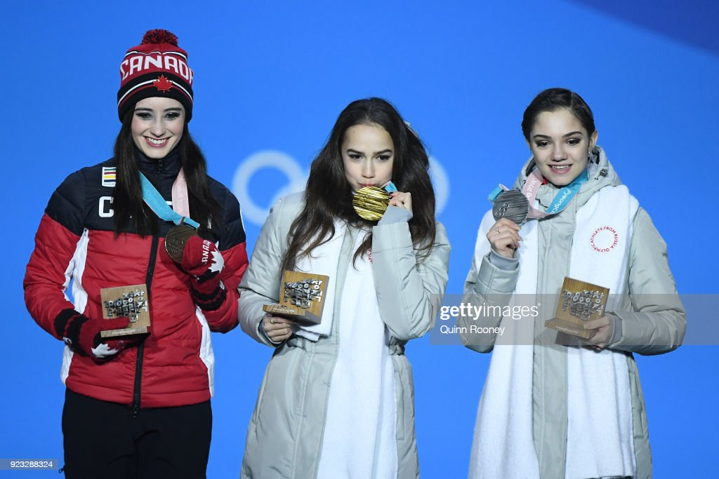 Medal Ceremony - Winter Olympics Day 14 : Photo d'actualité