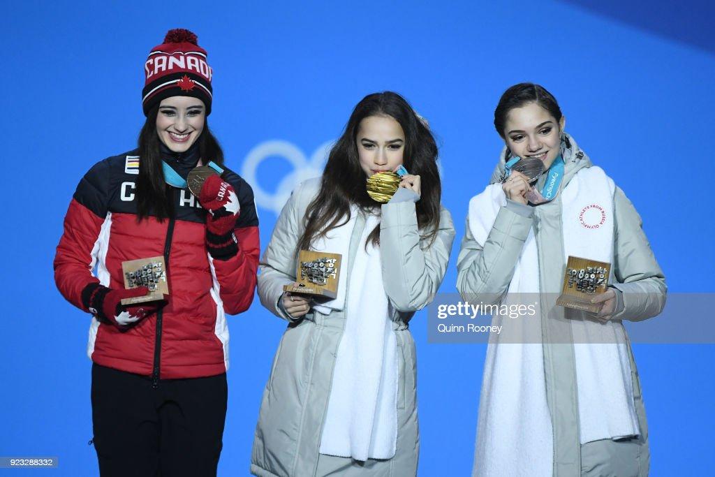 Medal Ceremony - Winter Olympics Day 14 : News Photo