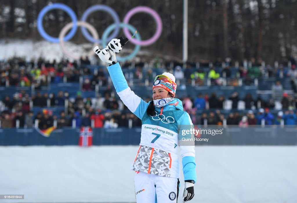 Cross-Country Skiing - Winter Olympics Day 1 : News Photo