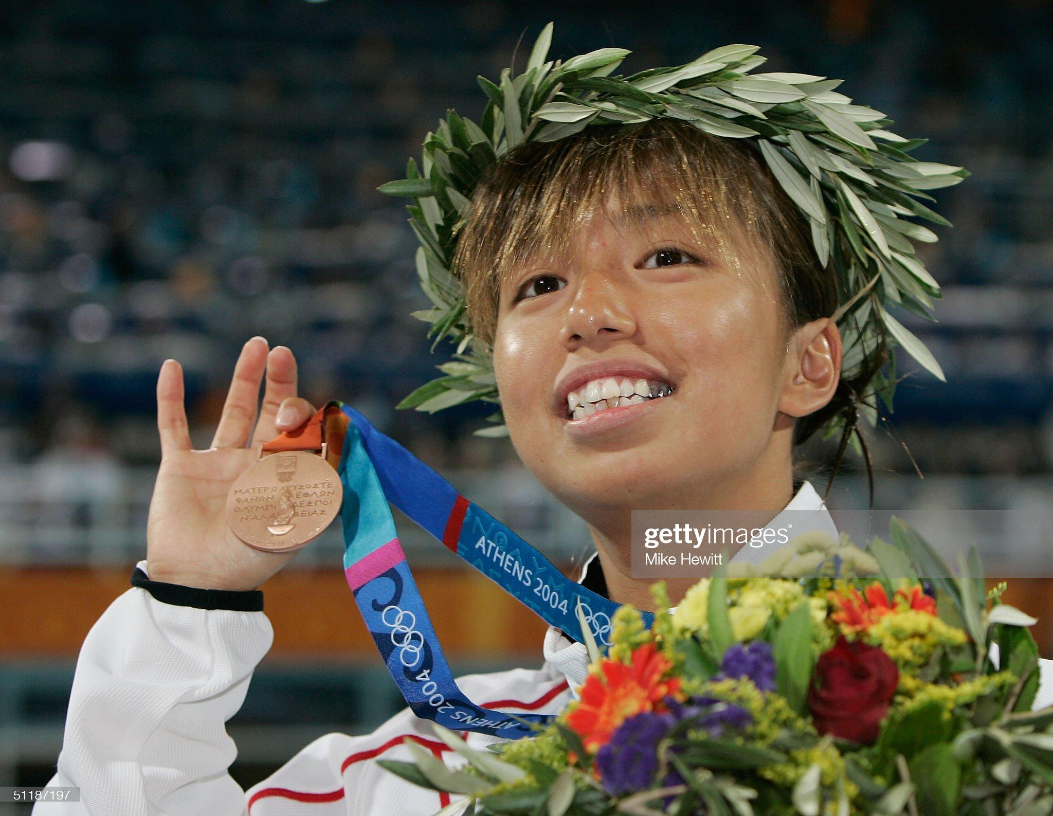 Womens 200m Butterfly Medal Ceremony : Fotografía de noticias