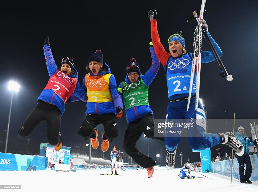Biathlon - Winter Olympics Day 13 : Photo d'actualité