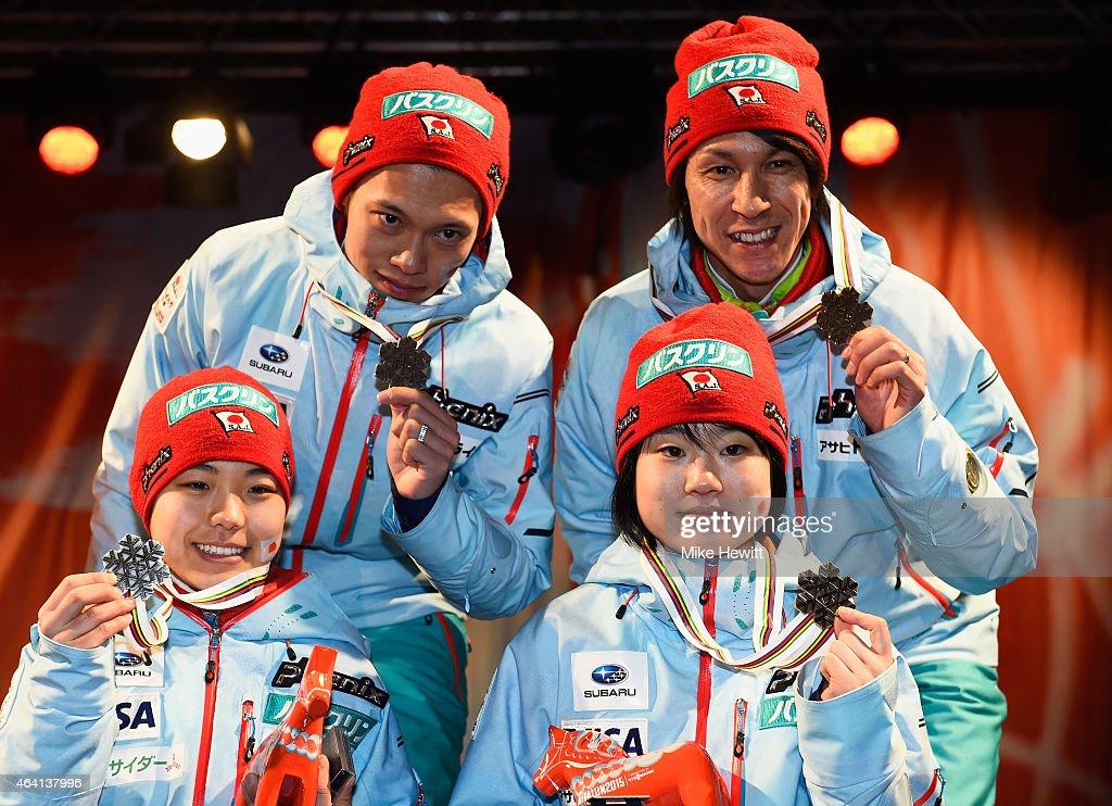 Team Ski Jumping - FIS Nordic World Ski Championships : News Photo