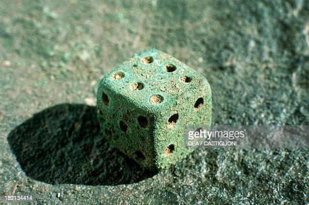 Bronze playing dice by Berenice Panchrysos Sudan Greek Civilisation 3rd1st century BC