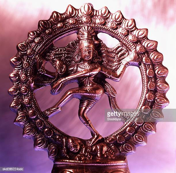 bronze shiva statue - shiva stock pictures, royalty-free photos & images
