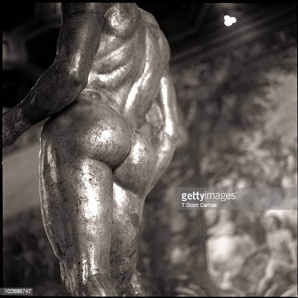 Bronze Statue in Rome