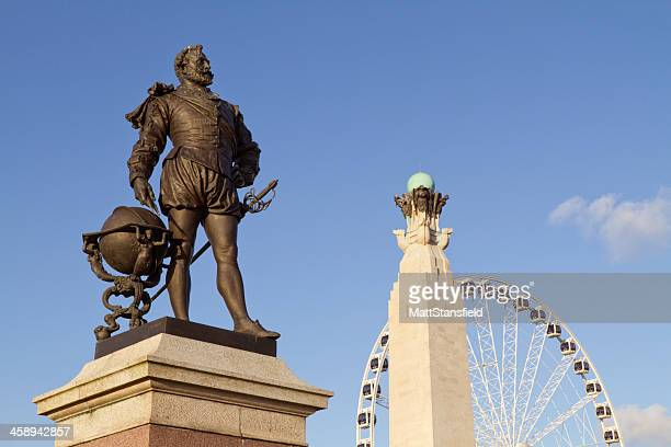 Bronze Statue of Admiral Lord Nelson