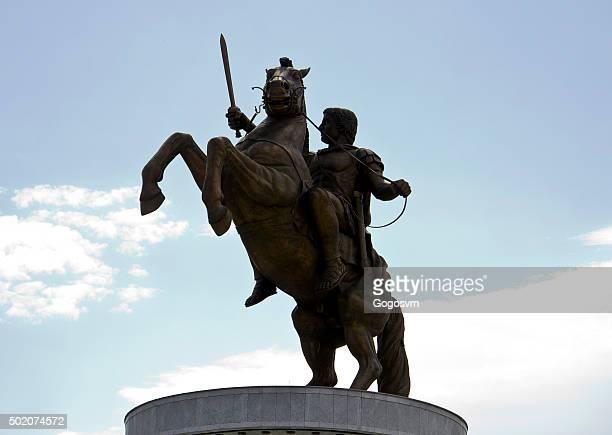 statue en Bronze d'Alexandre le Grand