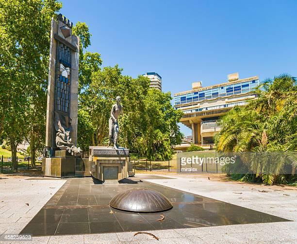 Bronze Statue of Evita Perón in Buenos Aires, Argentina