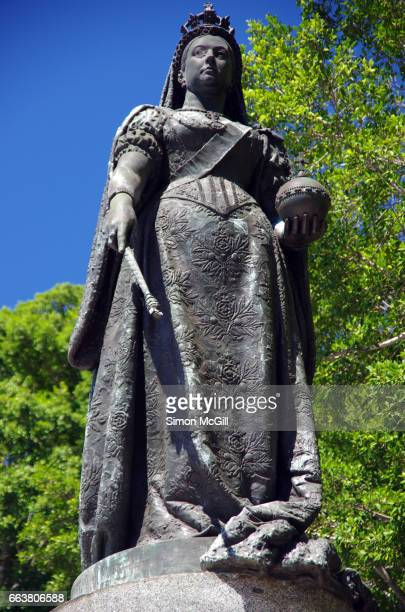 Bronze statue of Queen Victoria by Joseph Boehm in Sydney, New South Wales, Australia