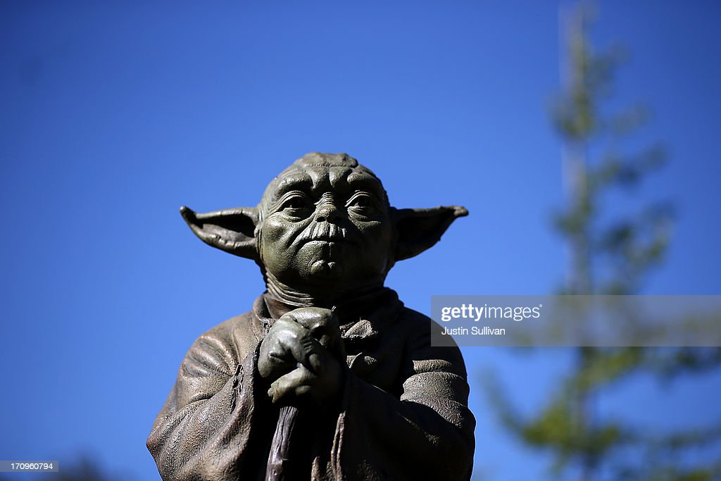 """New Marin County Park Features Statue Of """"Star Wars"""" Character Yoda : News Photo"""