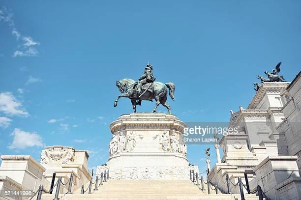 Bronze statue of Vittorio Emanuele II