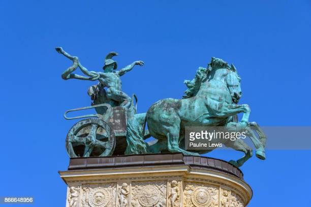 Bronze Statue of War