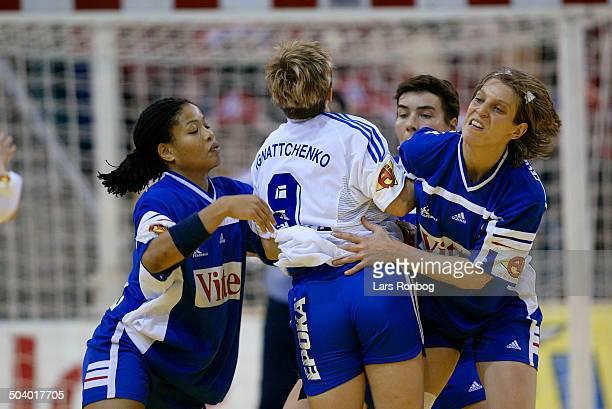 EC bronzmatch Anna Agnattchenko Russia Myriam Said Mohamed Véronique PecqueuxRolland France